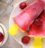Polos de cereza y yogur